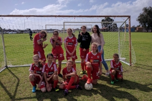Another win for the girls.- Bunbury United