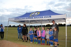 Australind Junior Soccer Club Team - Girl's Carnival 2017-48