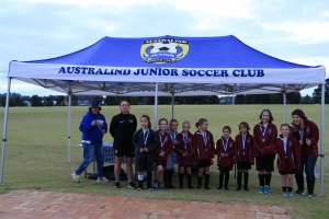Australind Junior Soccer Club Team - Girl's Carnival 2017-50