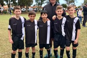 CCJSA Junior Soccer Team At Cockburn City Soccer Club