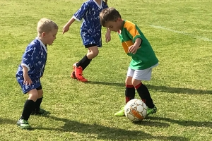 Collie Junior Soccer Club Face off