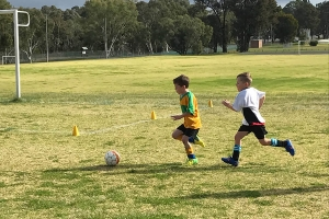 Collie Junior Soccer Club Playing-1