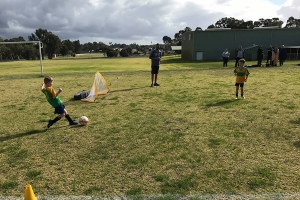Collie Junior Soccer Club Playing-2