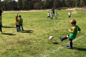 Collie Junior Soccer Team