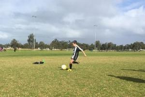 Go for goal - Hay Park United Soccer Club