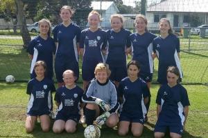 Harvey Hawks Junion Soccer Club Girls U13 Team