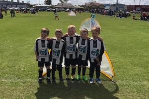 Hay Park United Junior Soccer Club Groupie of 5
