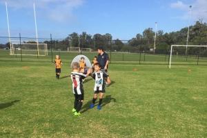 Hay Park United Soccer Club - Boys Team High Five