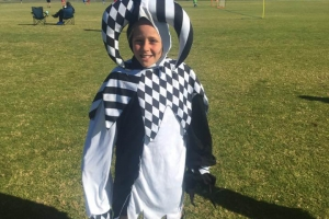 Lovely costume - Hay Park United Soccer Club