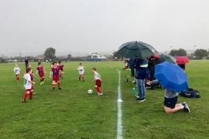 Lovely day for a winter sport. -Bunbury United Soccer Club Inc. Junior