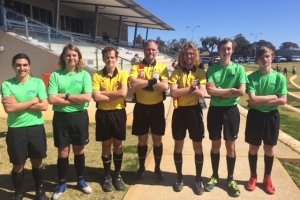 Thank you to our Referees for the day, they all did a superb job and are to be congratulated.