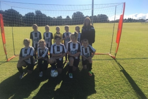 The Girls Team of Hay Park United Soccer Club