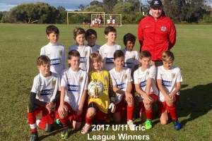 U11 Tric to play in the 2017 CCJSA Top 4 Cup final.