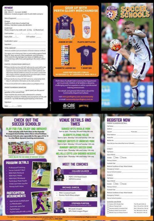 Perth Glory Soccer School