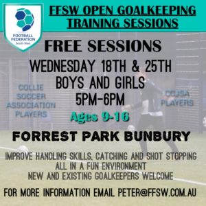 Goal Keeping sessions