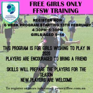girls only program