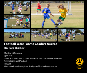 Game leaders course bunbury