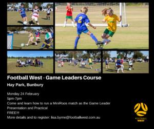 Game leaders course bunbury