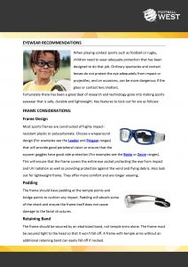 Eyewear Recommendation